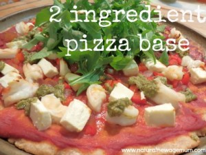 2 ingredient pizza base