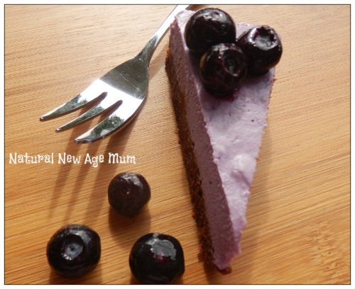 Berry Coconuty Cheesecake