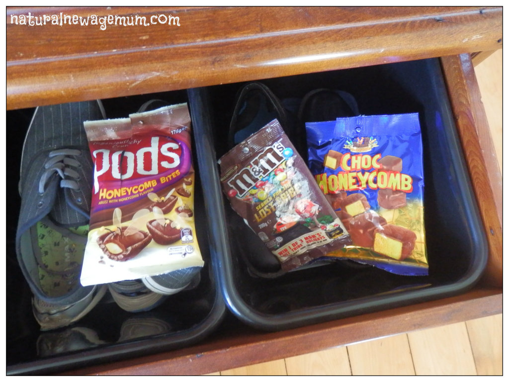 The shocking things I found in my son's shoe drawer!
