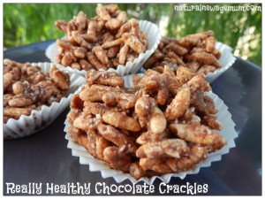 Really Healthy Chocolate Crackles