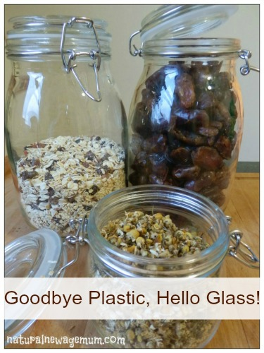 Goodbye Plastic, Hello Glass!