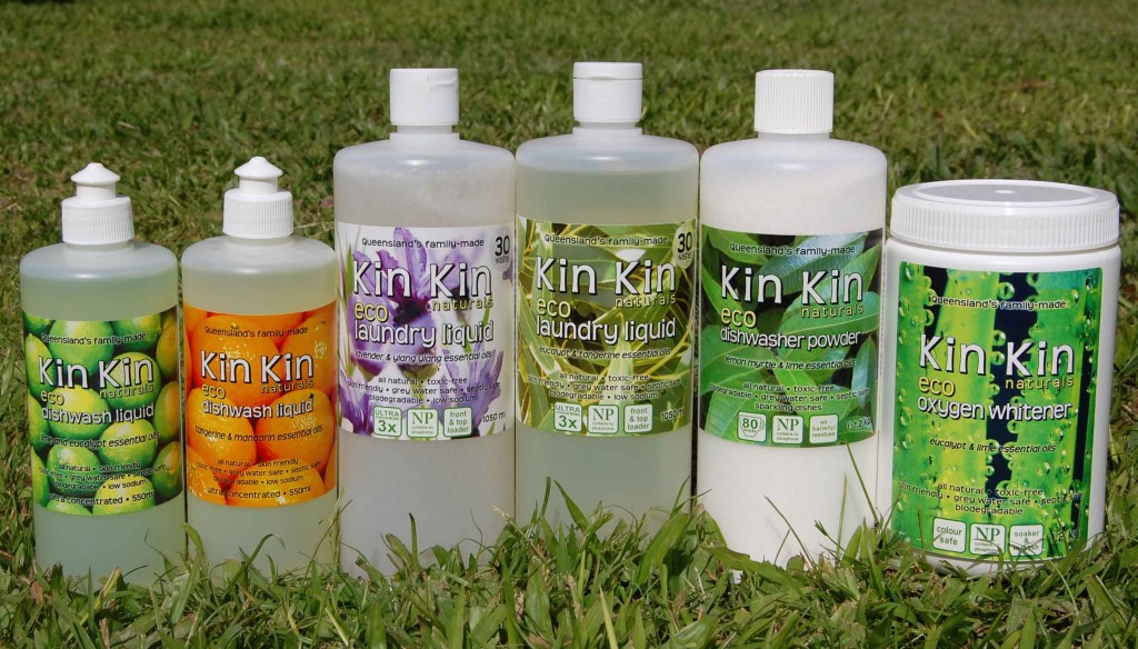 Kin Kin Naturals cleaning products giveaway!