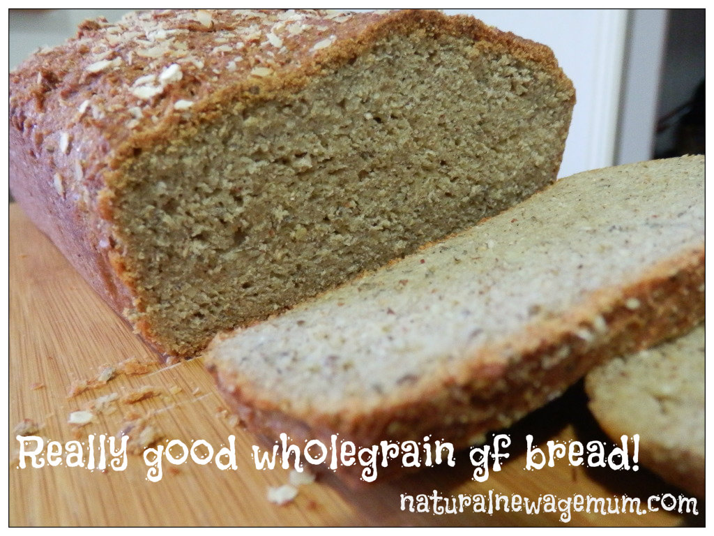 Really good wholegrain gluten-free bread!