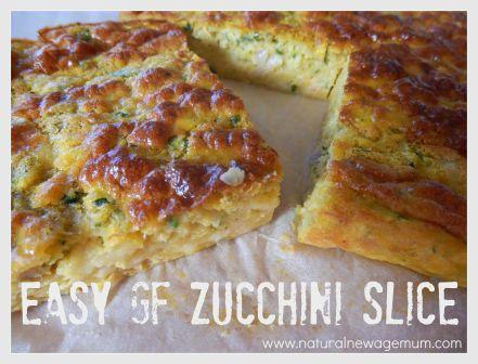 Easy GF Zucchini Slice for the Thermomix
