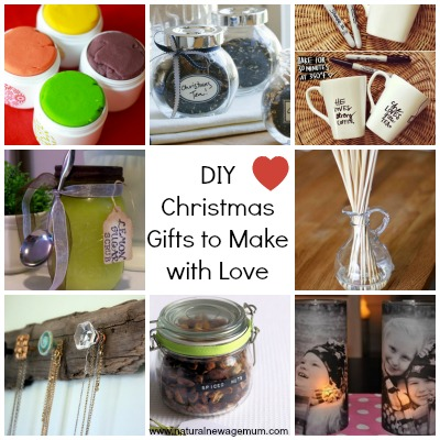 10 DIY Christmas Gifts to Make with Love!