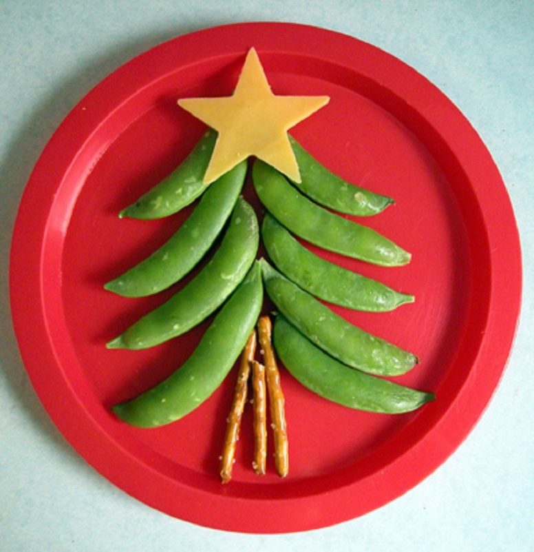 Fun and Healthy Edible Christmas Trees!
