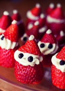 Strawberry Santas    112412