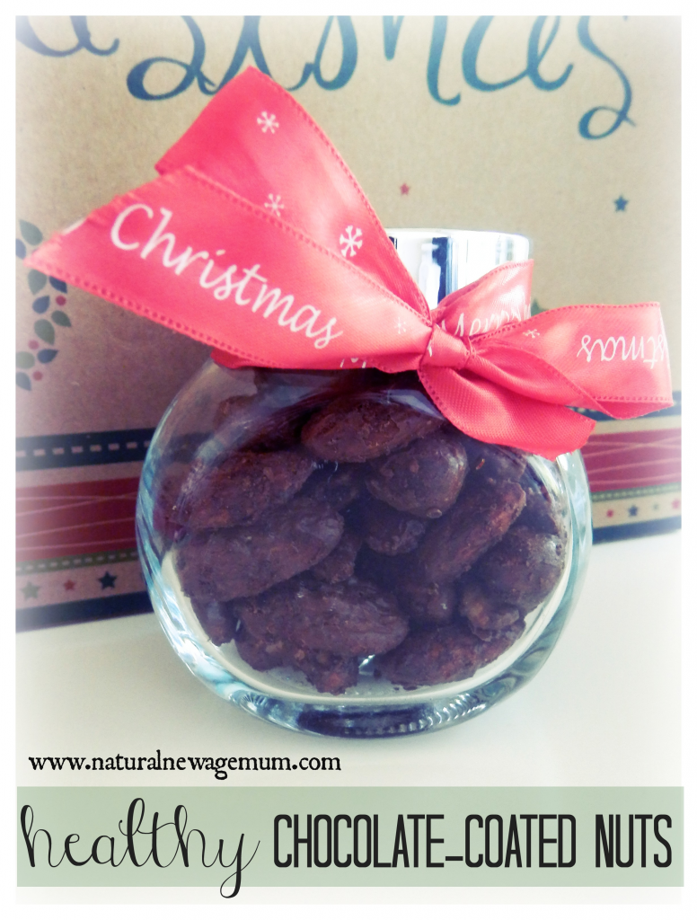 choc coated nuts