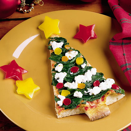 Pizza Xmas Tree