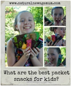 What are the best packet snacks for kids?