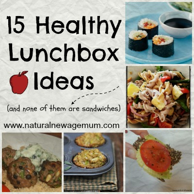 15 Healthy Lunchbox Meals (and none of them are sandwiches)