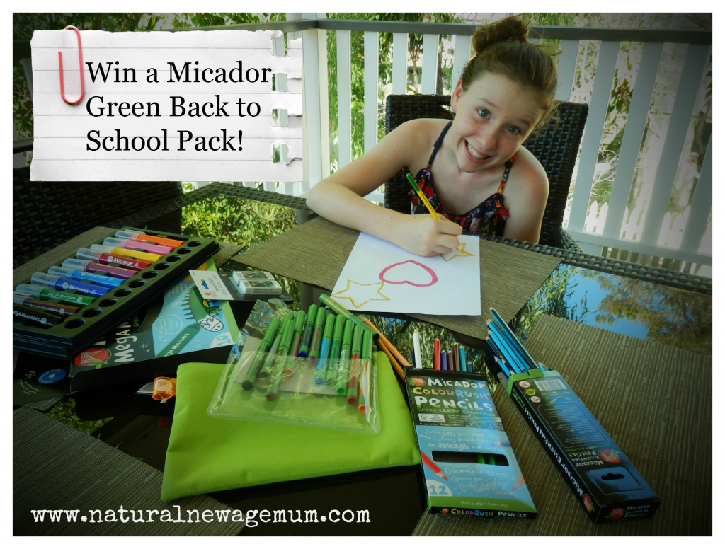 Win a Green eARTh Back to School pack from Micador!