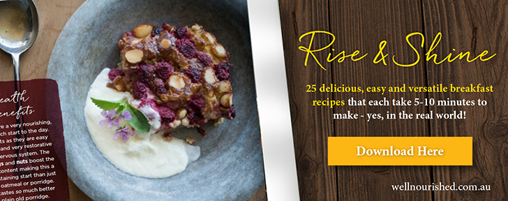Well Nourished Rise and Shine Breakfast Recipe Book