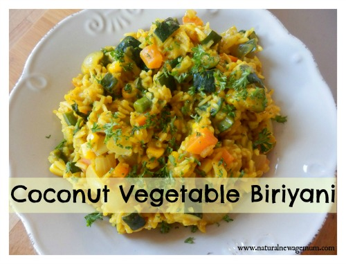 Coconut Vegetable Biriyani