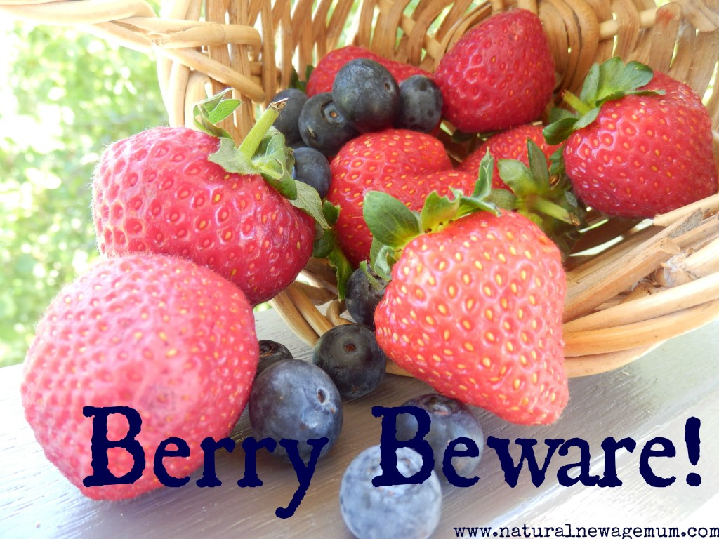 Berry Beware! What's really in your fruit?