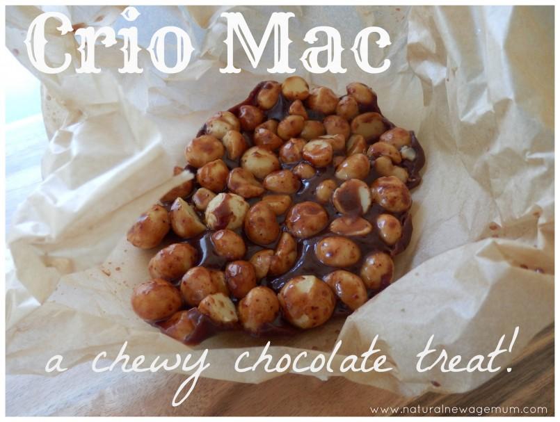 Caio Mac.... a chewy chocolatey treat