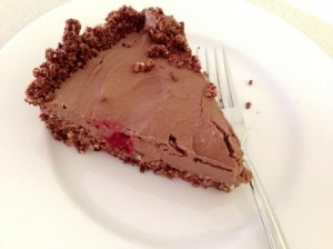 Raw Chocolate Tart from Relauncher