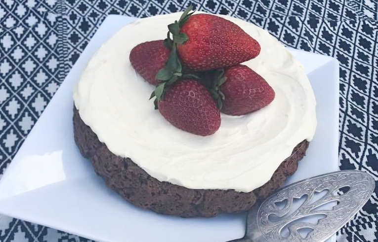 Healthy Chocolate Birthday Cake Aka Sonias Yoghurt