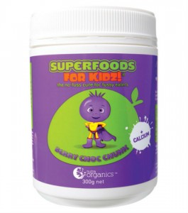 Nutra Organics Superfoods for Kids Berry Choc Chunk
