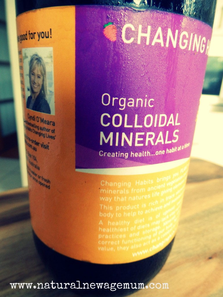 Colloidal Mineral Natural New Age Mum