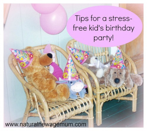 A stress free kid's party