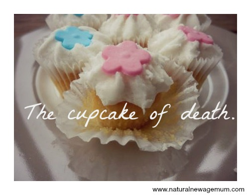 The cupcake of death.
