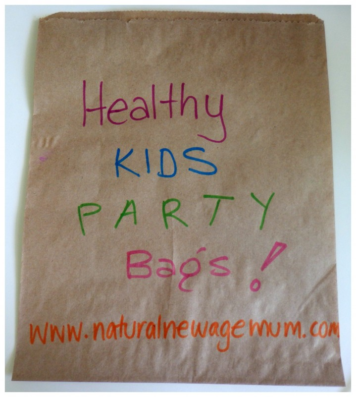 Healthy Kids Party Bags - Natural New Age Mum