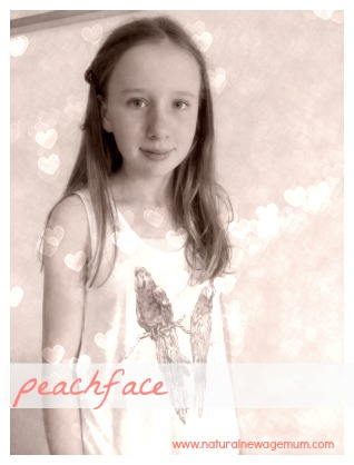 Peachface tween and teen natural skincare