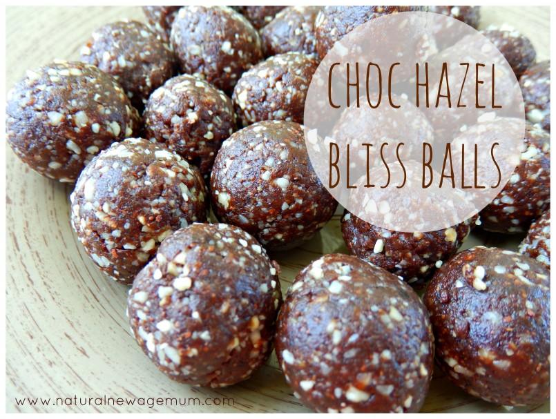 Choc-Hazel Bliss Balls