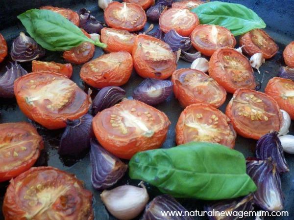 Really Easy Roasted Tomato Sauce