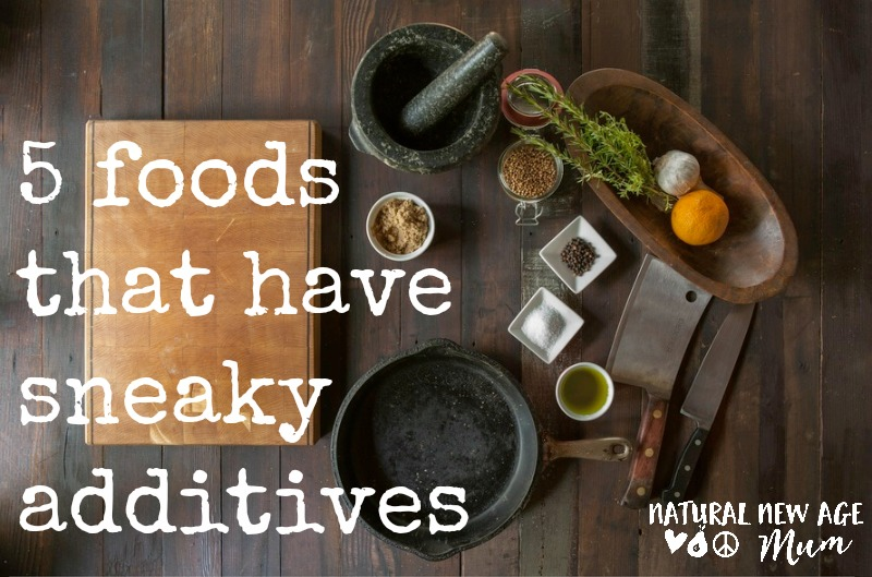 5 foods that have sneaky additives