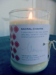 Sacral Chakra Unwind Candle