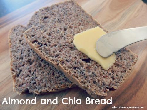 almond and chia bread