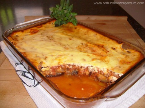 easy peasy lamb moussaka