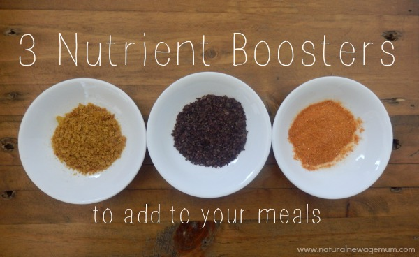 3 Nutrient Boosters to Add to Your Meals