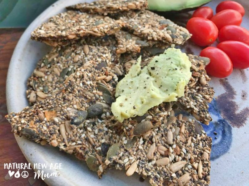Easy Seed Crackers