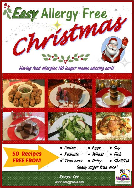 Organic allergy friendly and healthier christmas food and drinks coverlogo allergy forumfinder Gallery