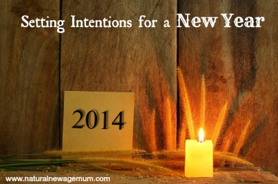 Setting Intentions for a New Year