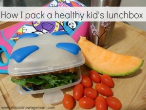 How I pack a healthy kid's lunchbox