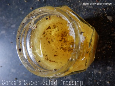 Sonia's Super Salad Dressing