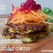 Zucchini Hash Browns (and a recipe book giveaway)