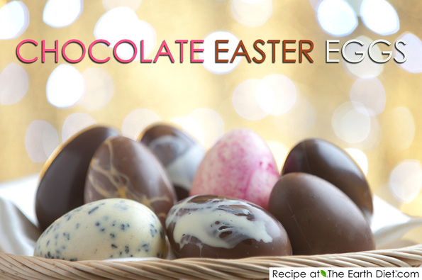 Healthy Homemade Easter Eggs - Ideas from The Earth Diet