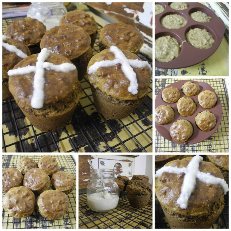 Healthy Hot Cross Buns - Grain Free, Gluten Free Co