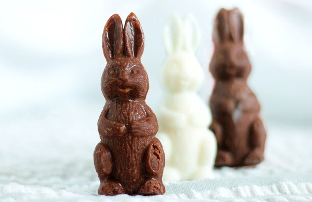 Healthy Homemade Easter Eggs - Bunnies from Chocolate Covered Katie