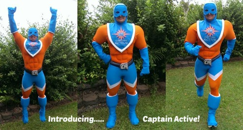Introducing…. Captain Active!
