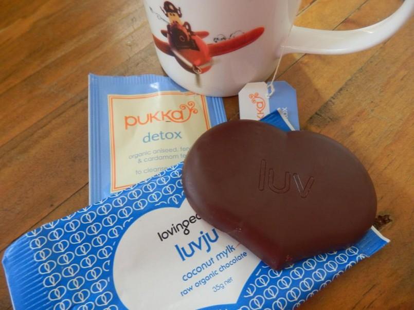 Pukka Tea and Luvju