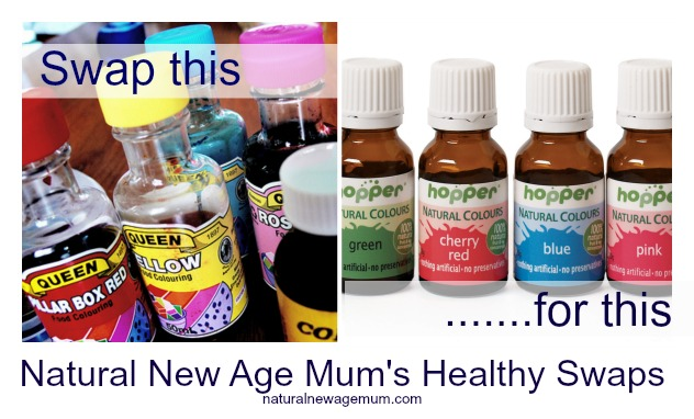 Natural New Age Mum's Healthy Swaps