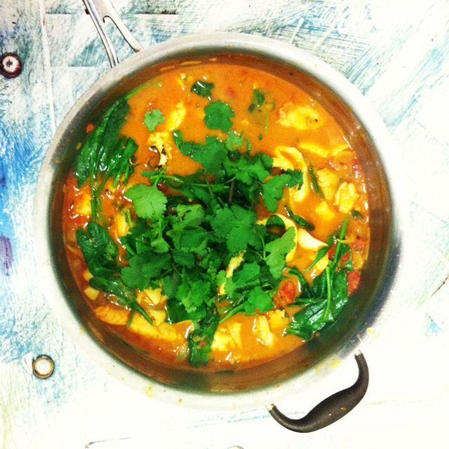 Alexx Stuart's Coconut Seafood Soup