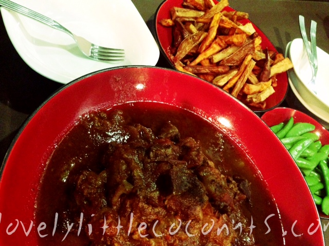 Slow Cooked Beef Cheek Casserole
