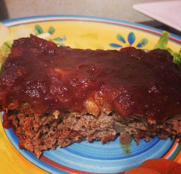 Hearty BBQ Meatloaf